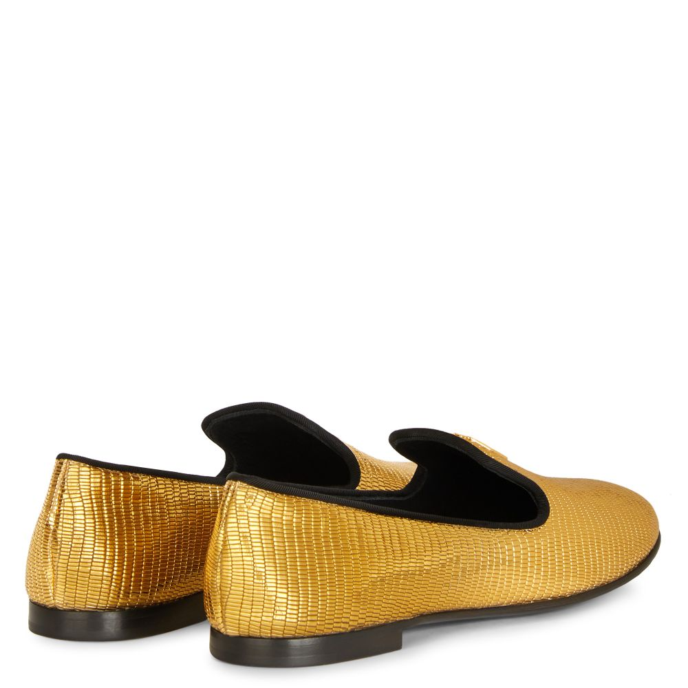 DALILA - Gold - Loafers