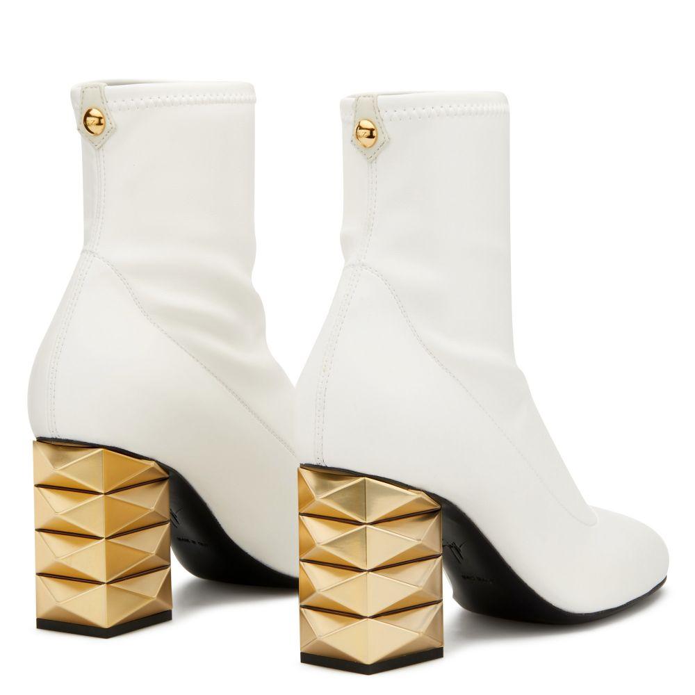 NALA - White - Boots