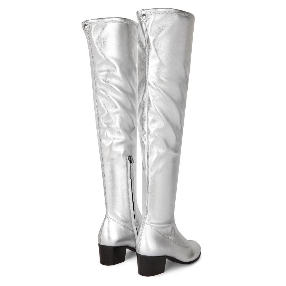 PORTLAND - Silver - Boots