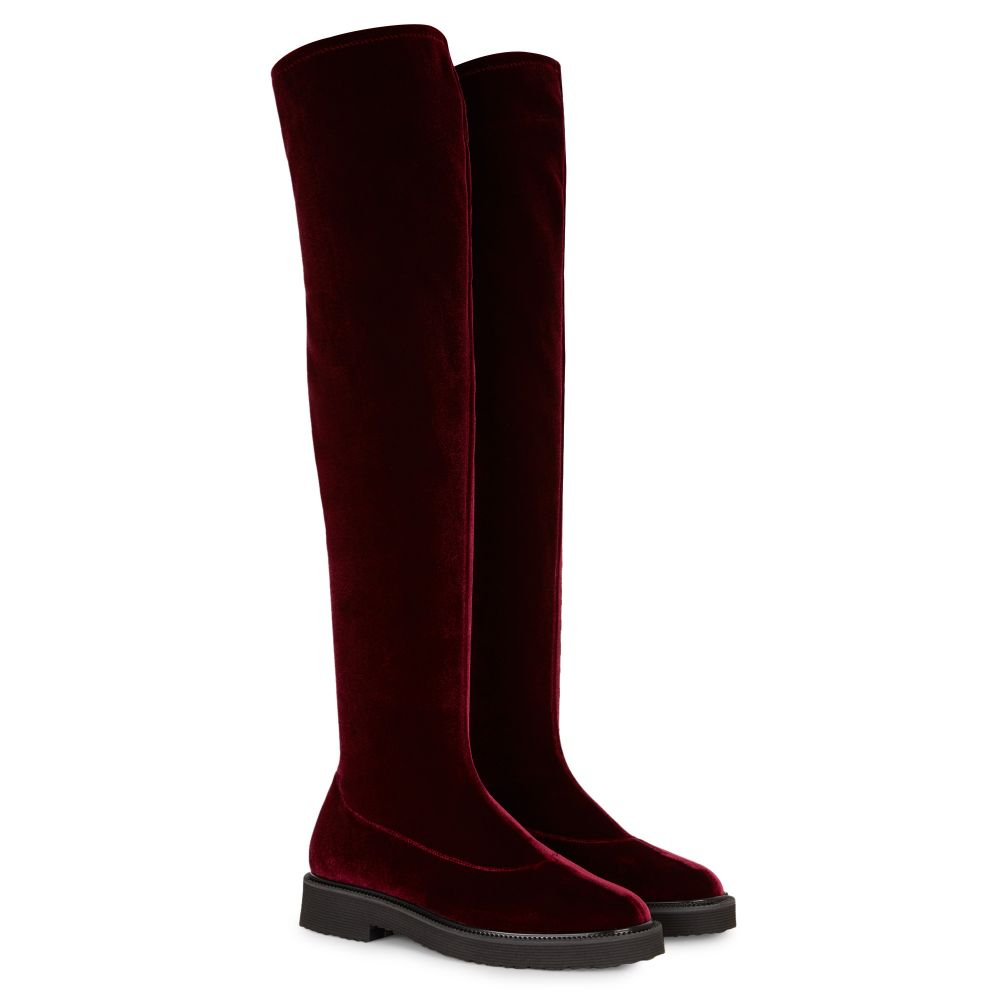 ADRIENNE - Bordeaux - Boots