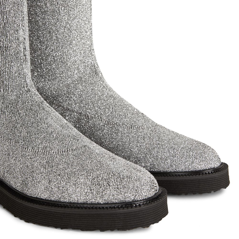 ADRIENNE - Silver - Boots