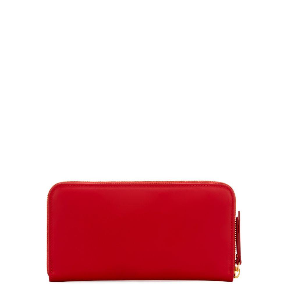 LORRAINE - Red - Wallets