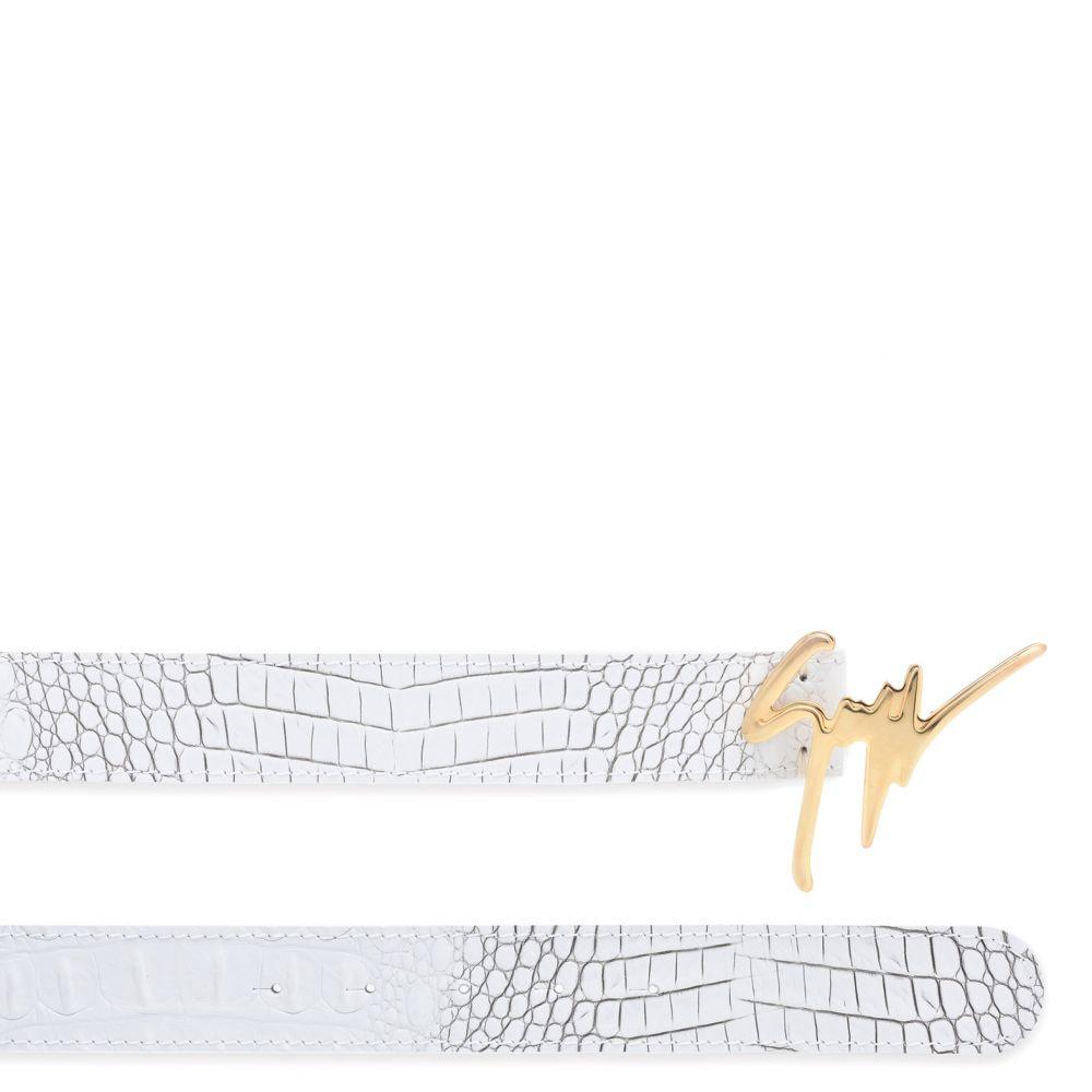 GIUSEPPE - White - Belts