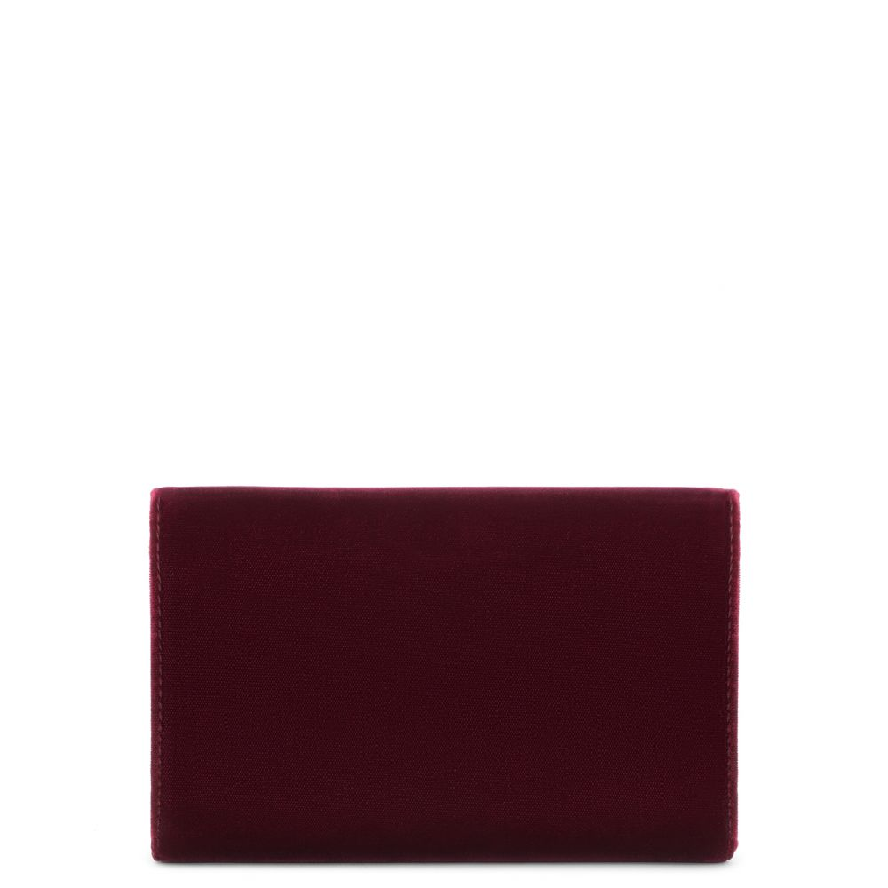JEANNINE - Red - Clutches
