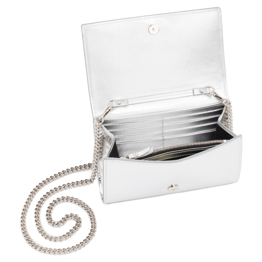 CLEOPATRA BOUCHE - Silver - Clutches