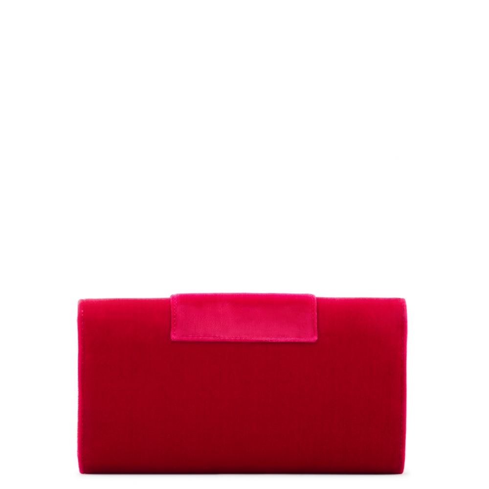 TRICIA - Red - Clutches