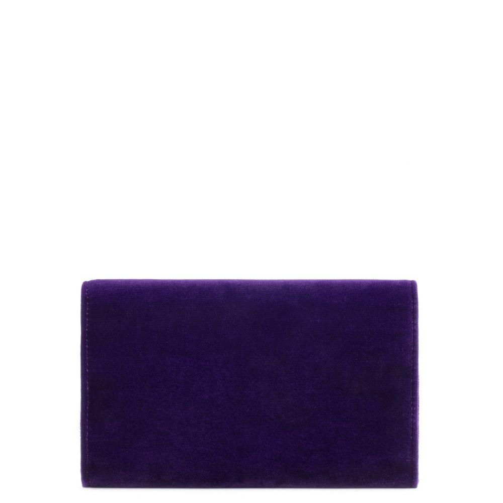 BONJOUR NUIT - Purple - Clutches