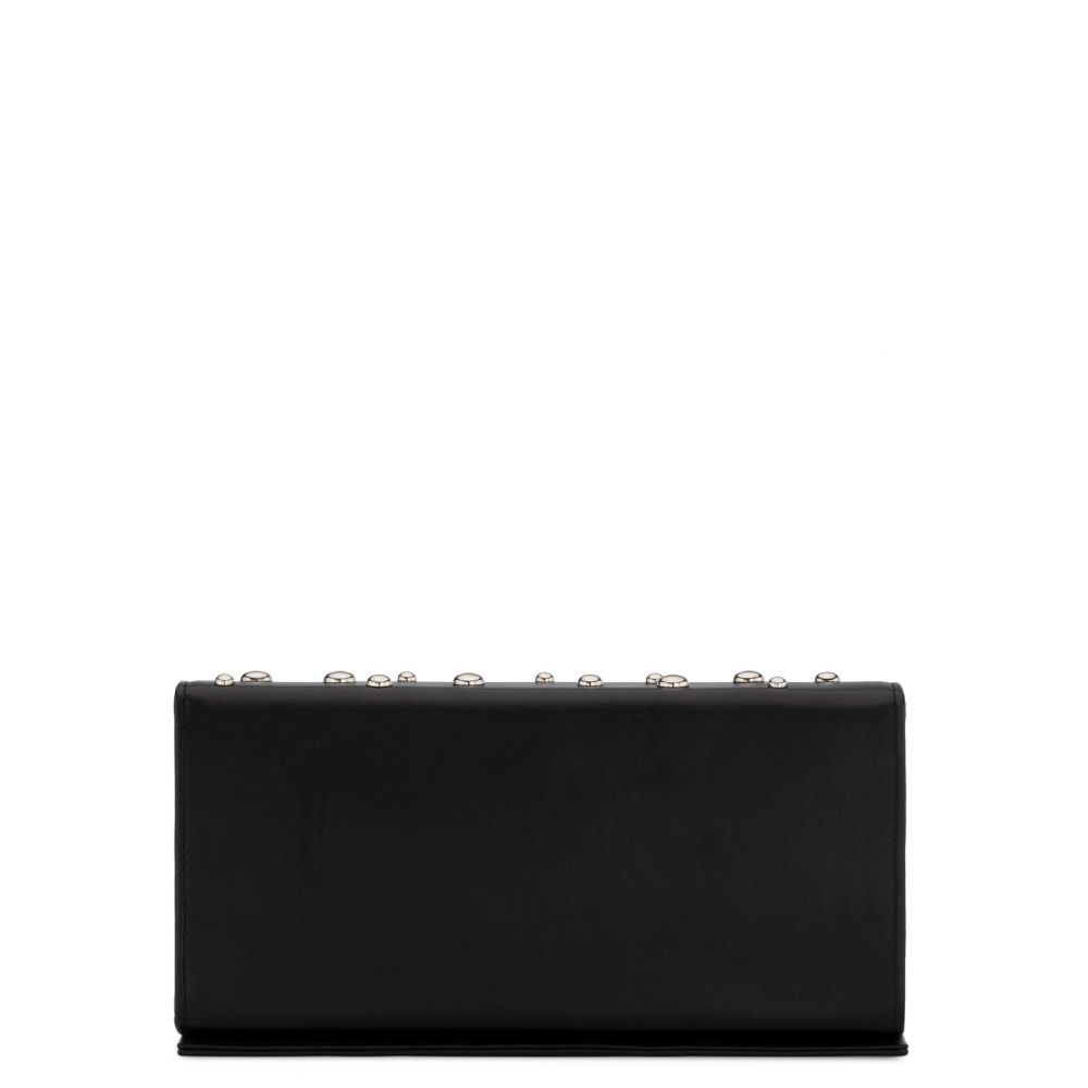 BECKY STUDS - Black - Clutches