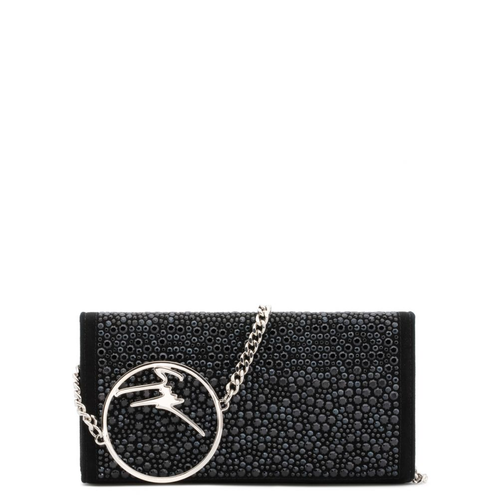 BECKY CRYSTAL - Black - Clutches