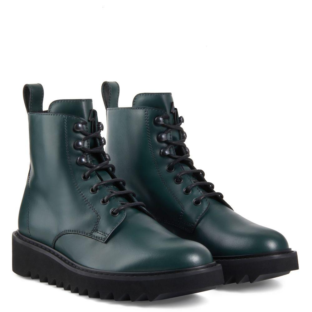BASSLINE - Green - Boots
