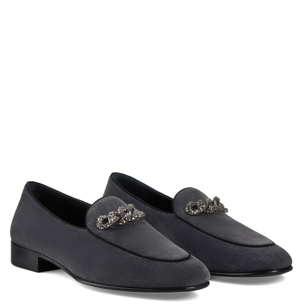 RUDOLPH CHAIN - Grey - Loafers
