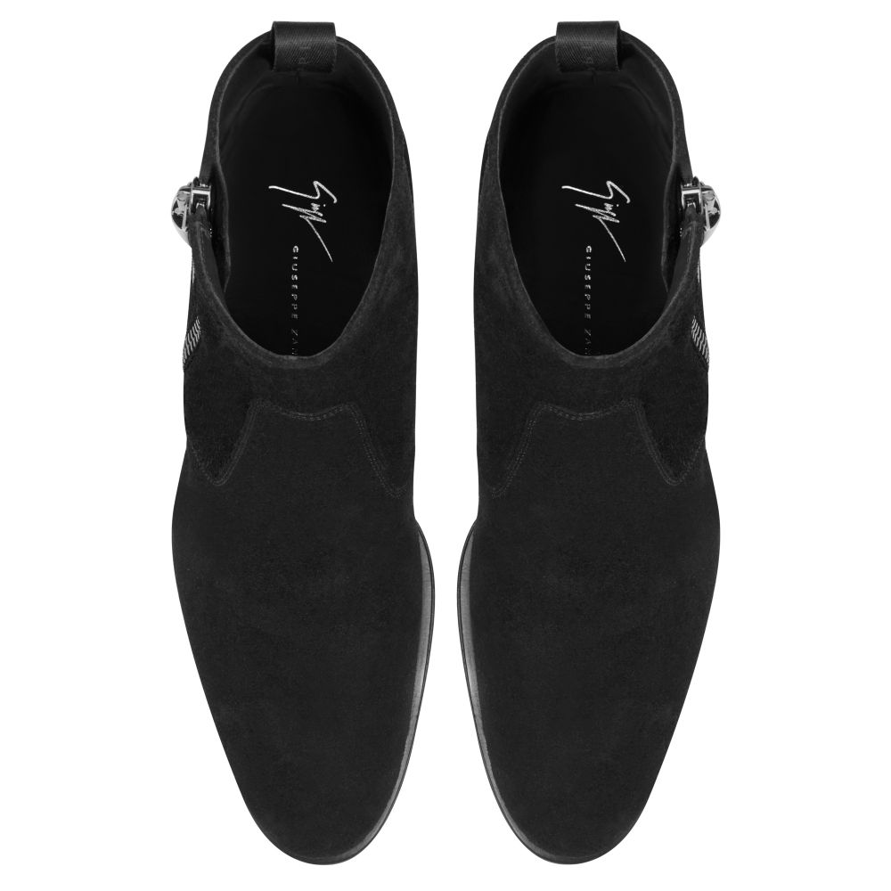 NEW YORK SUEDE - Black - Boots