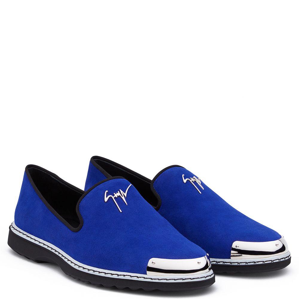 CEDRIC - Bleu - Mocassins