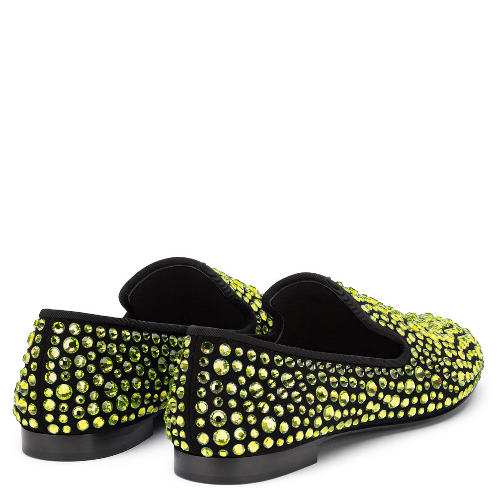 DAVID - Gold - Loafers
