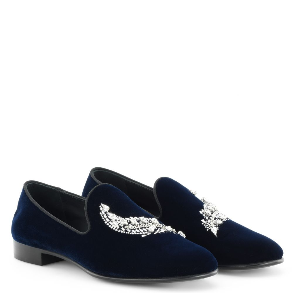 MYRON - Blue - Loafers