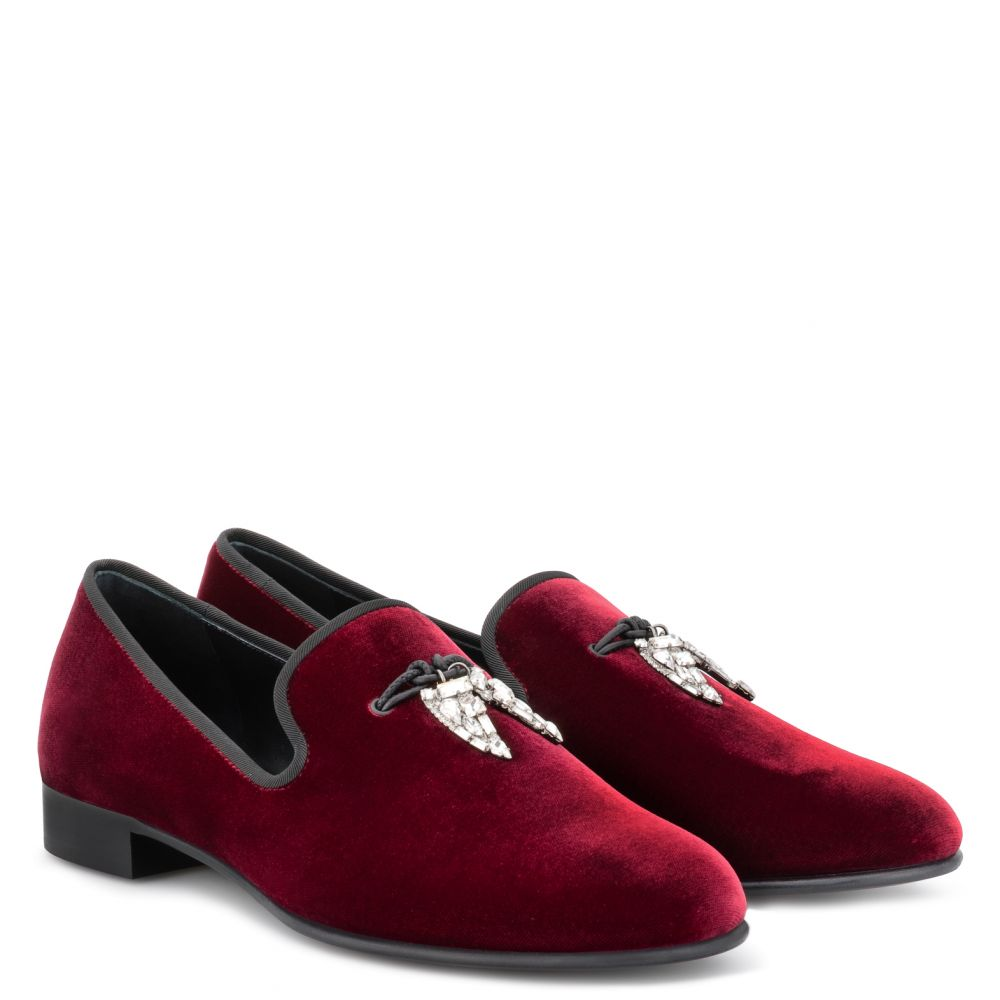 SHARK - Red - Loafers