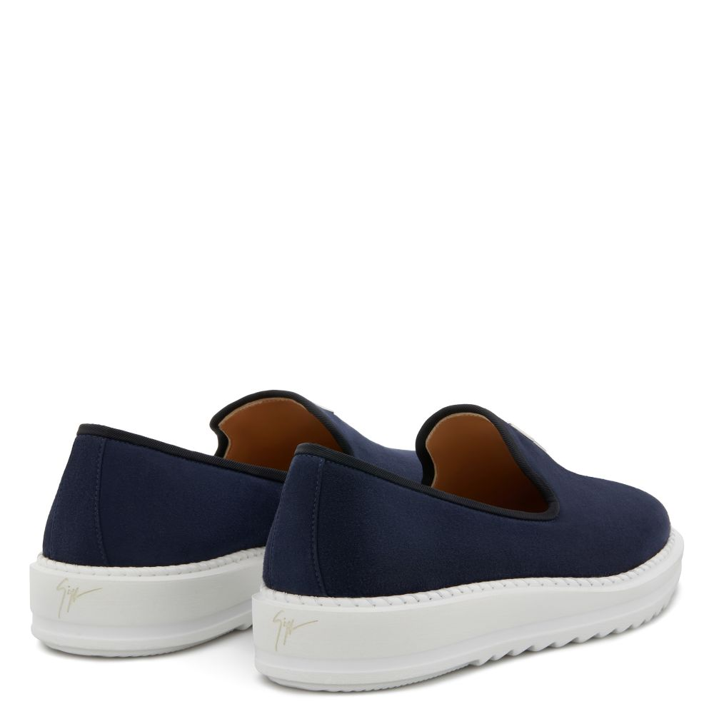 KLAUS - Blue - Loafers