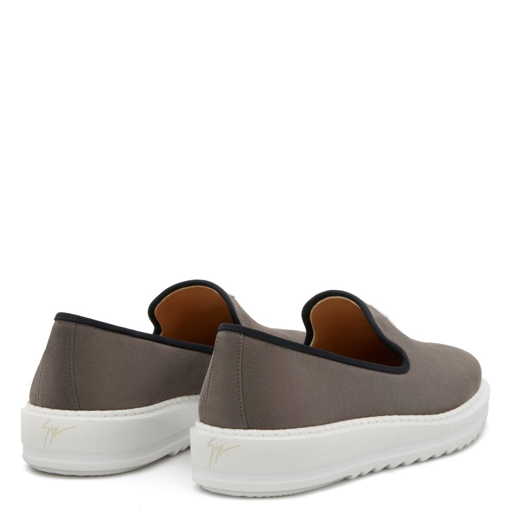 KLAUS - Grey - Loafers