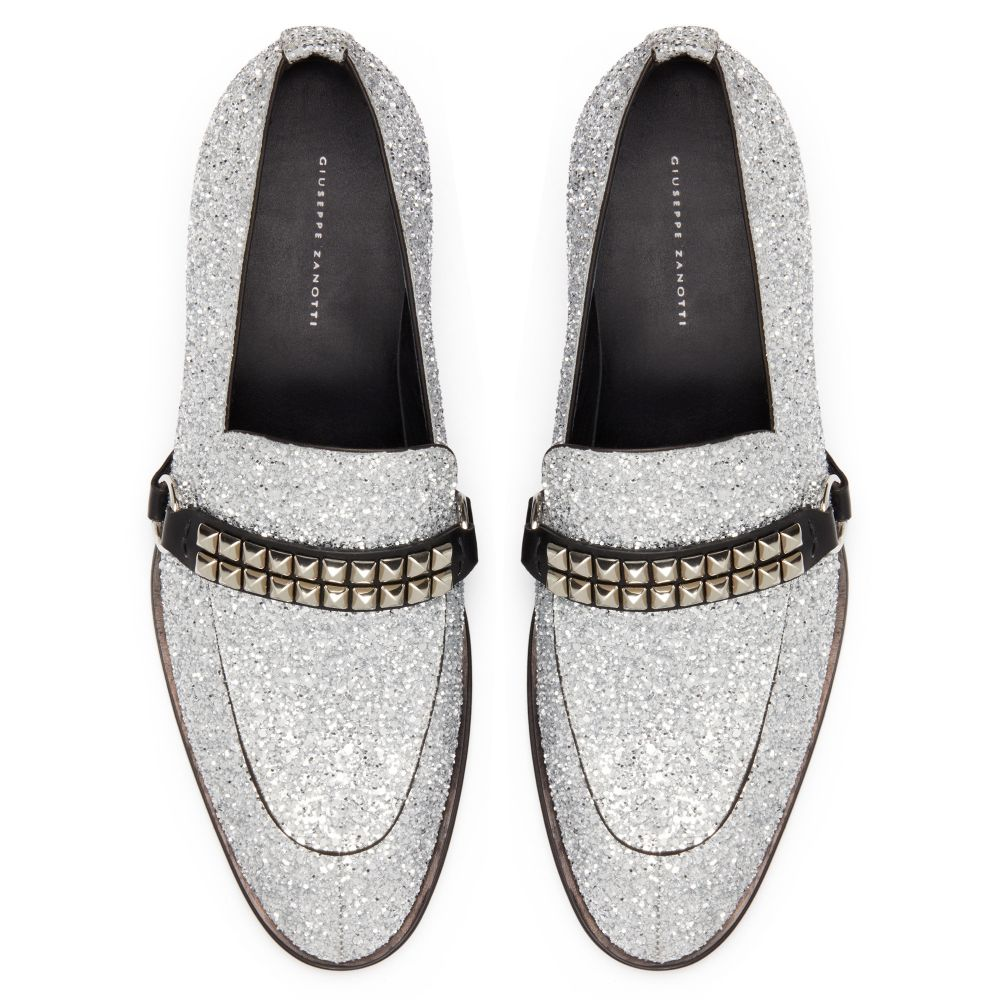 ANGELES - Silver - Loafers
