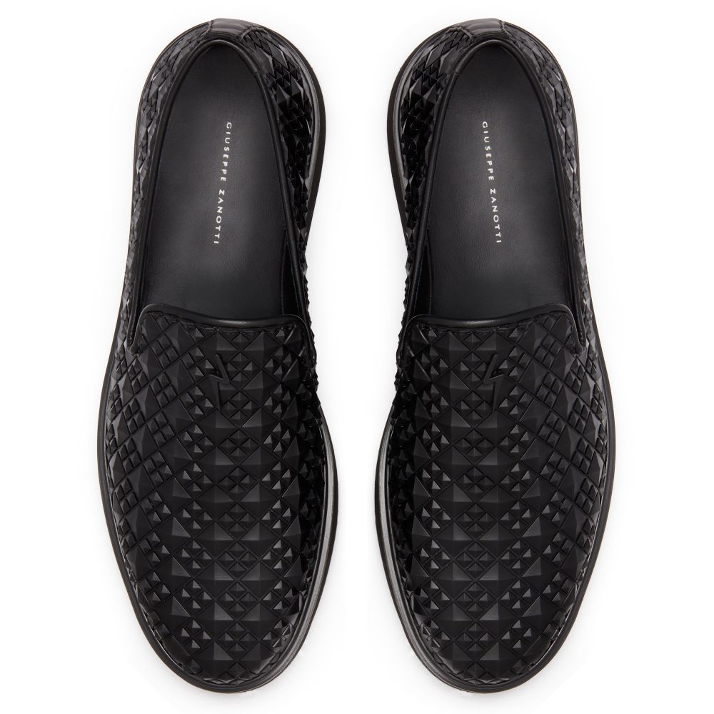 CLEM STUDS - Black - Loafers
