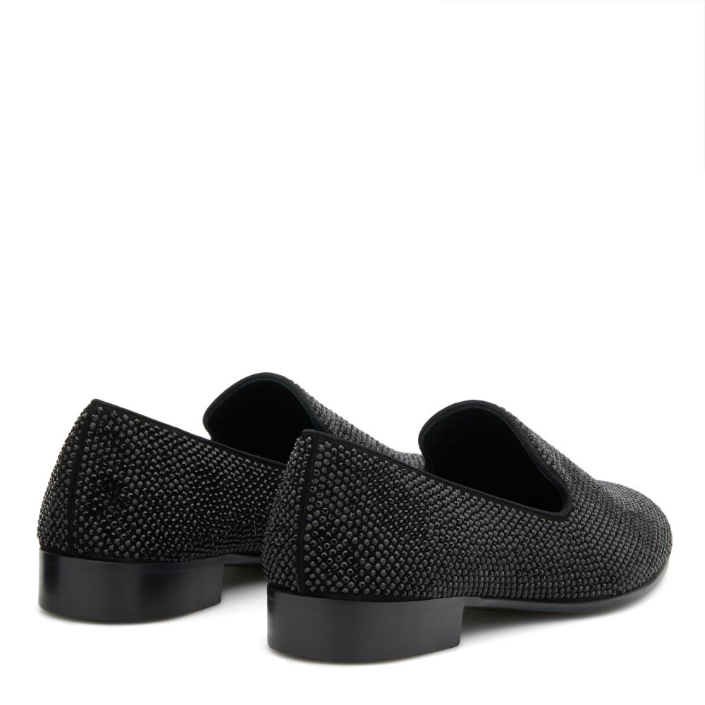 LEWIS - Black - Loafers