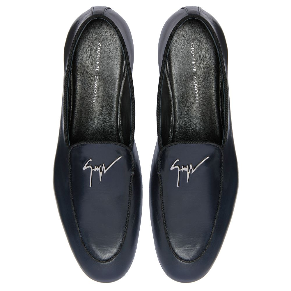 G-FLASH - Blue - Loafers
