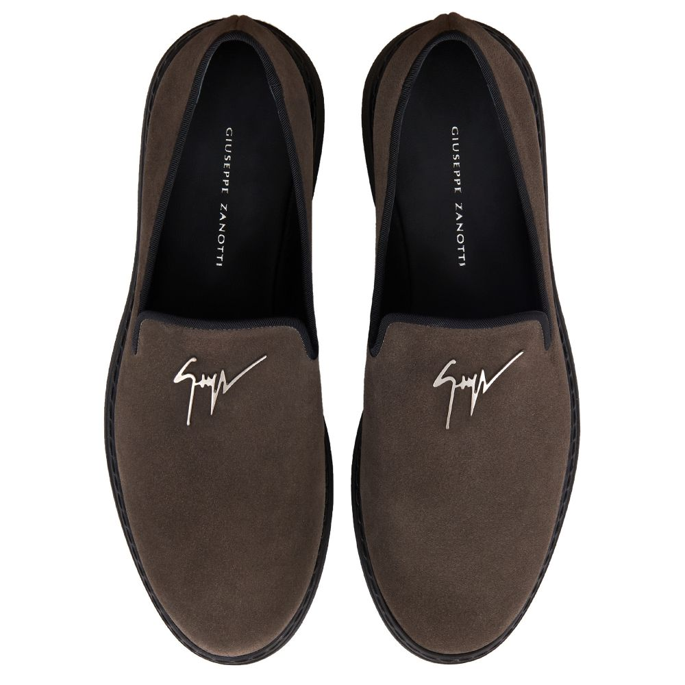 KEVIN - Grey - Loafers