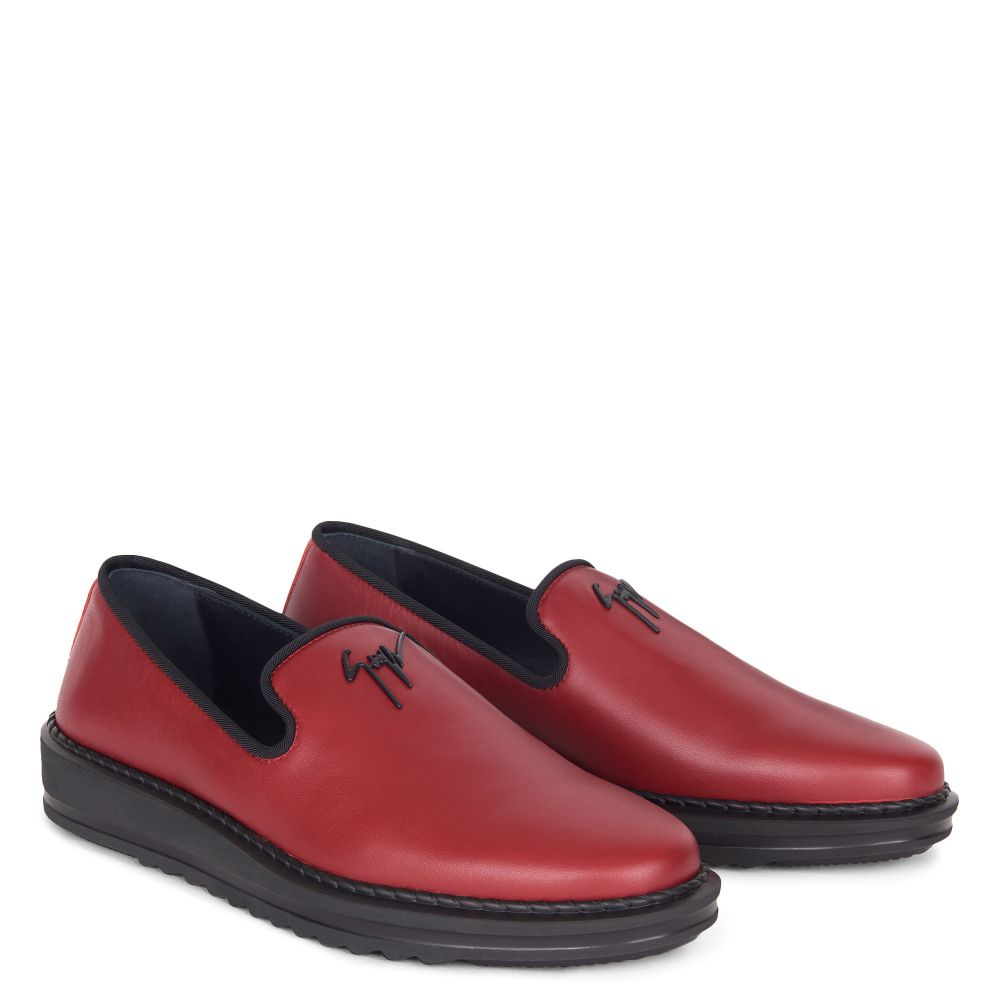 KLAUS - Red - Loafers