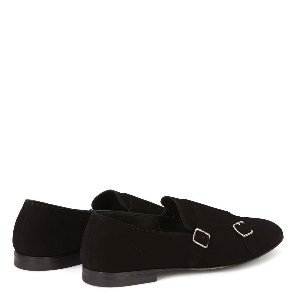 JOHNNY - Black - Loafers