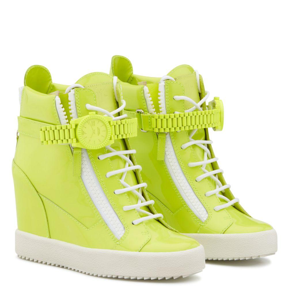 GZXCOWAN - Yellow - High top sneakers