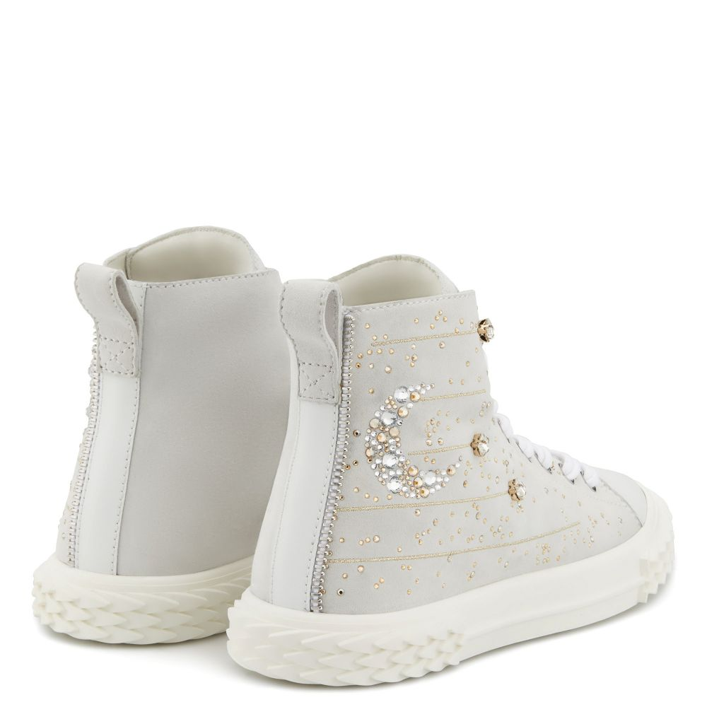 BLABBER LUNAR - Bianco - Sneaker mid top