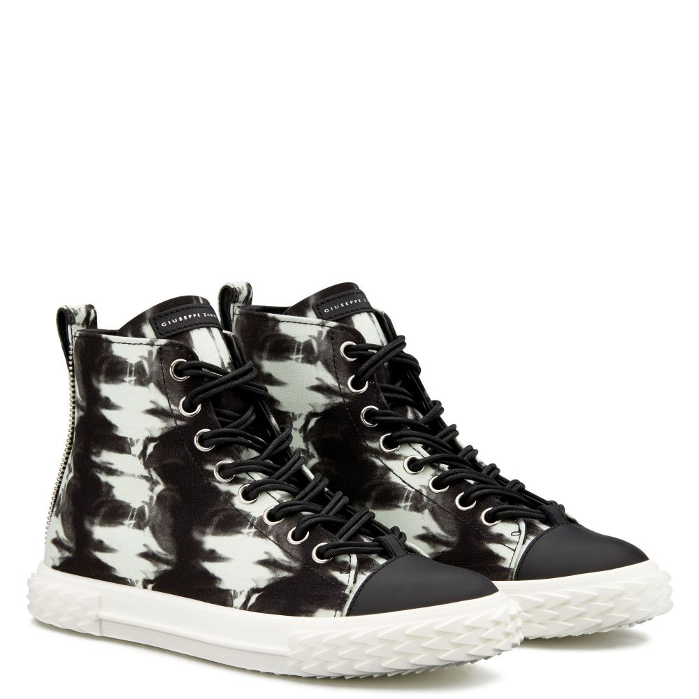 BLABBER - Black - Mid top sneakers