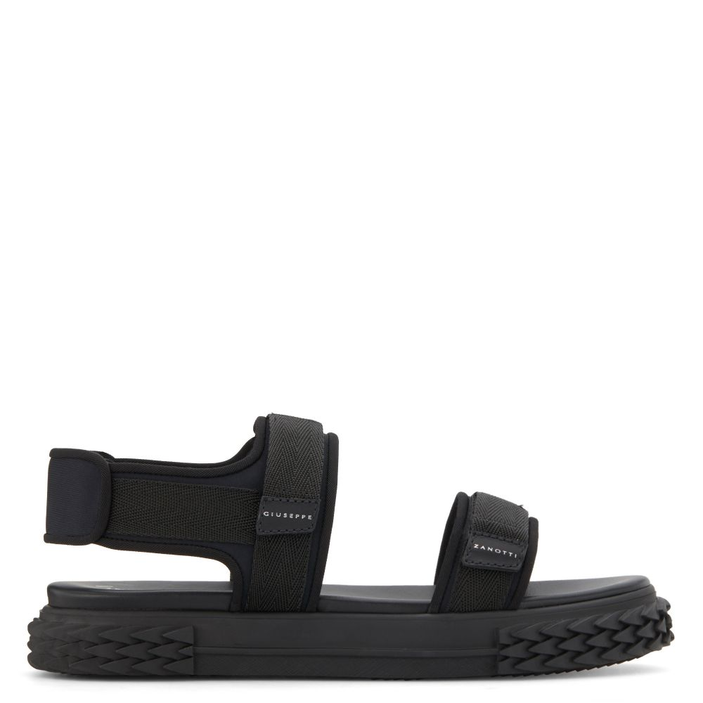 BLABBER GUMMY - Black - Sandals