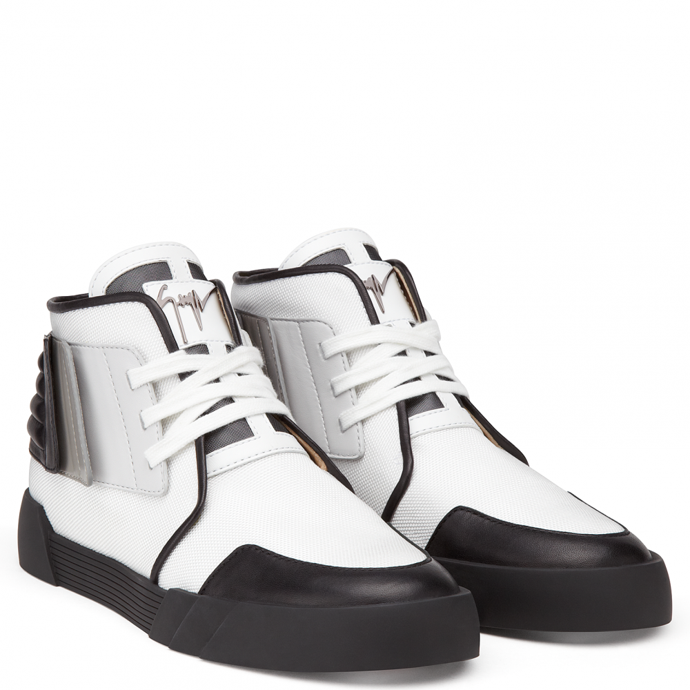THE SHARK 2.0 - White - Mid top sneakers