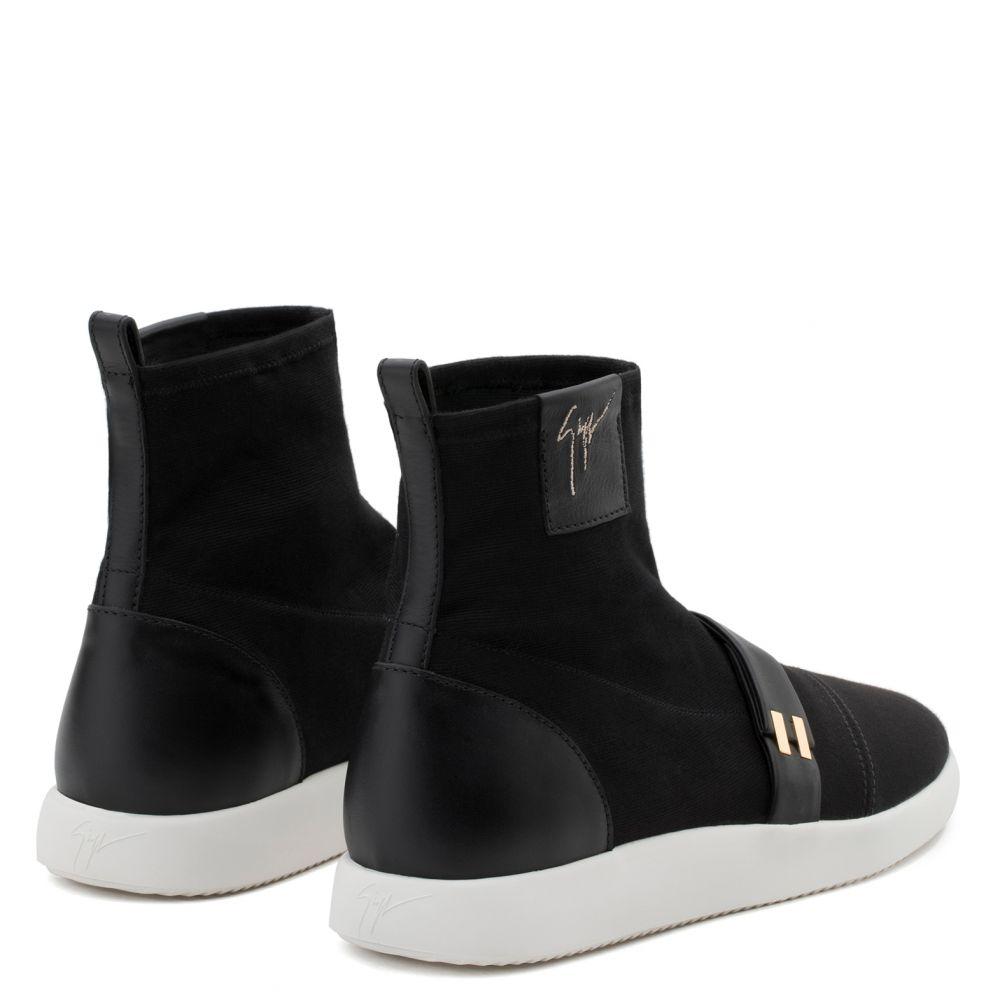 WARREN - Noir - Sneakers hautes