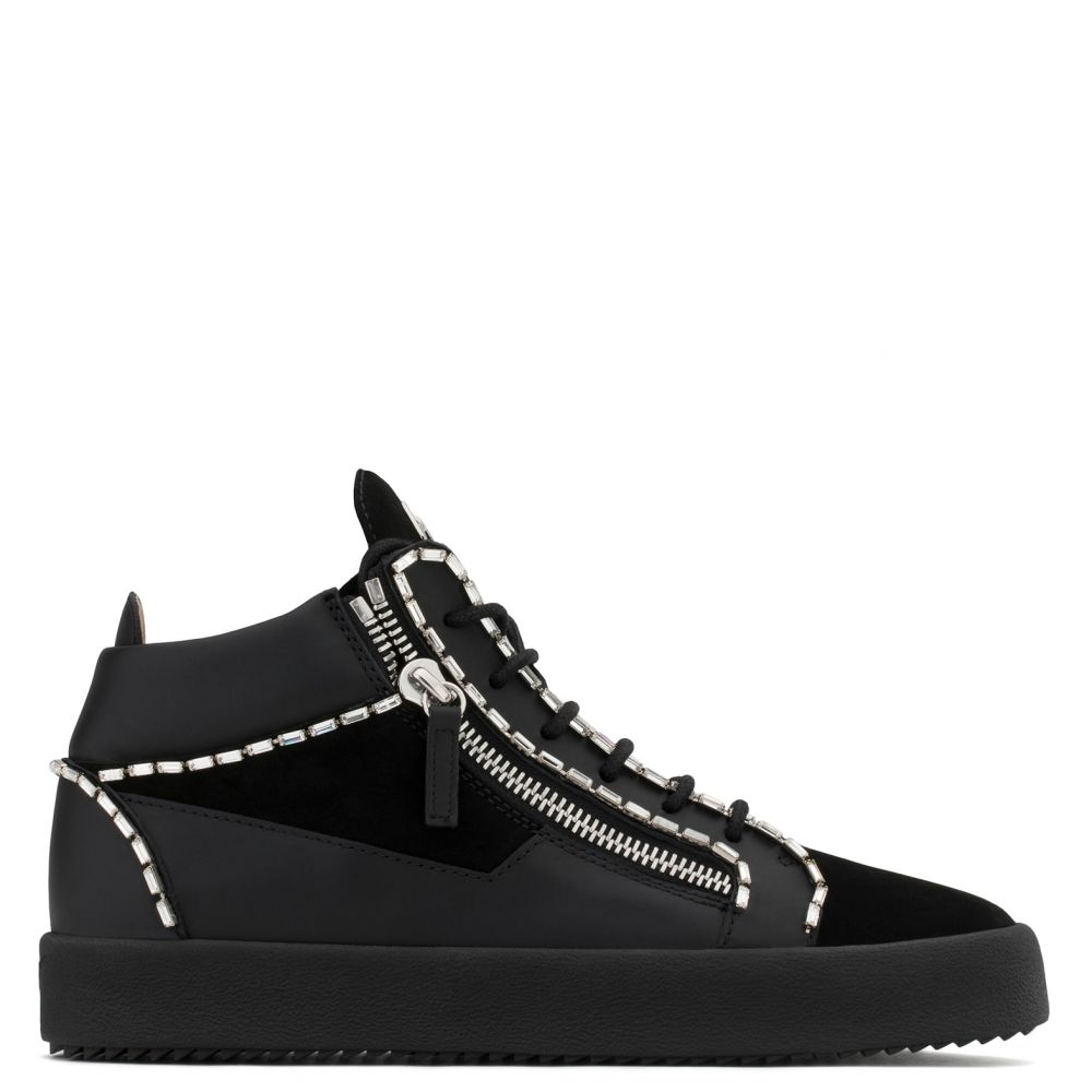 CRAIG - Black - Mid top sneakers