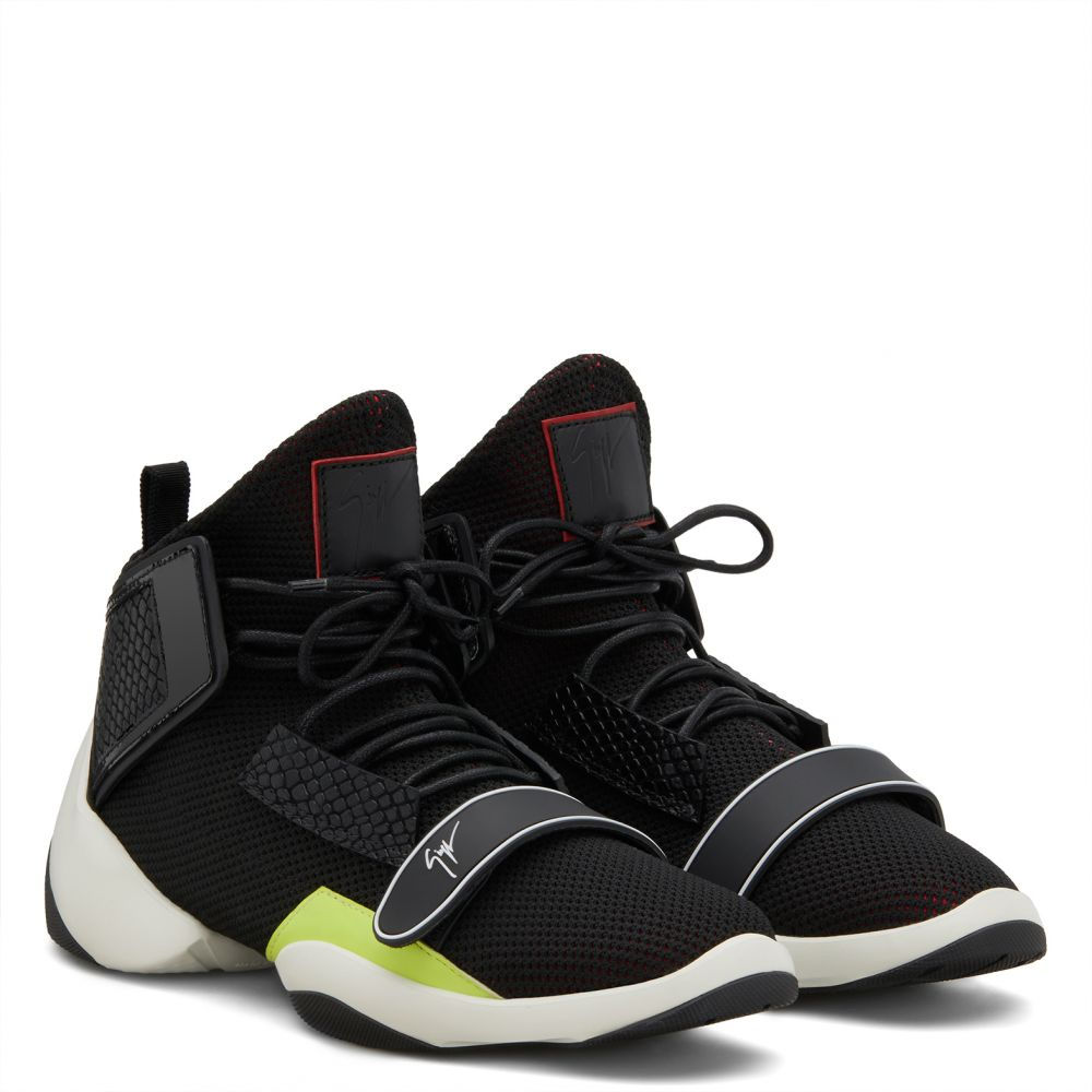 LIGTH JUMP MT1 - Black - High top sneakers