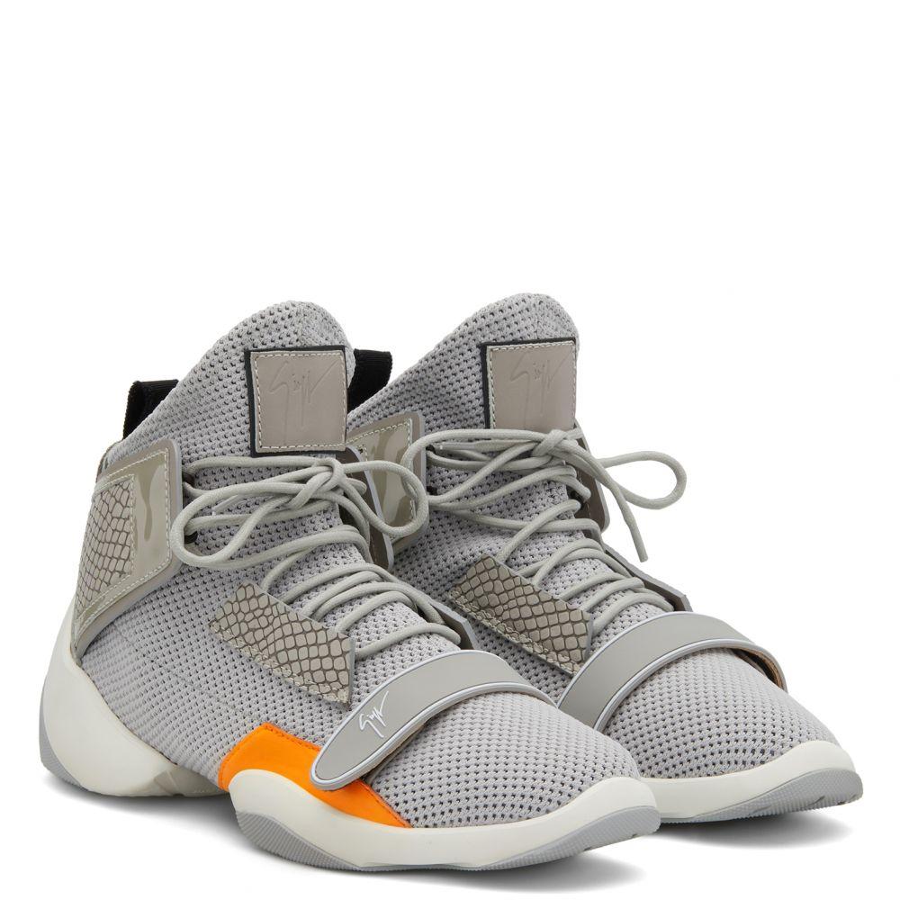 LIGTH JUMP MT2 - Grey - High top sneakers