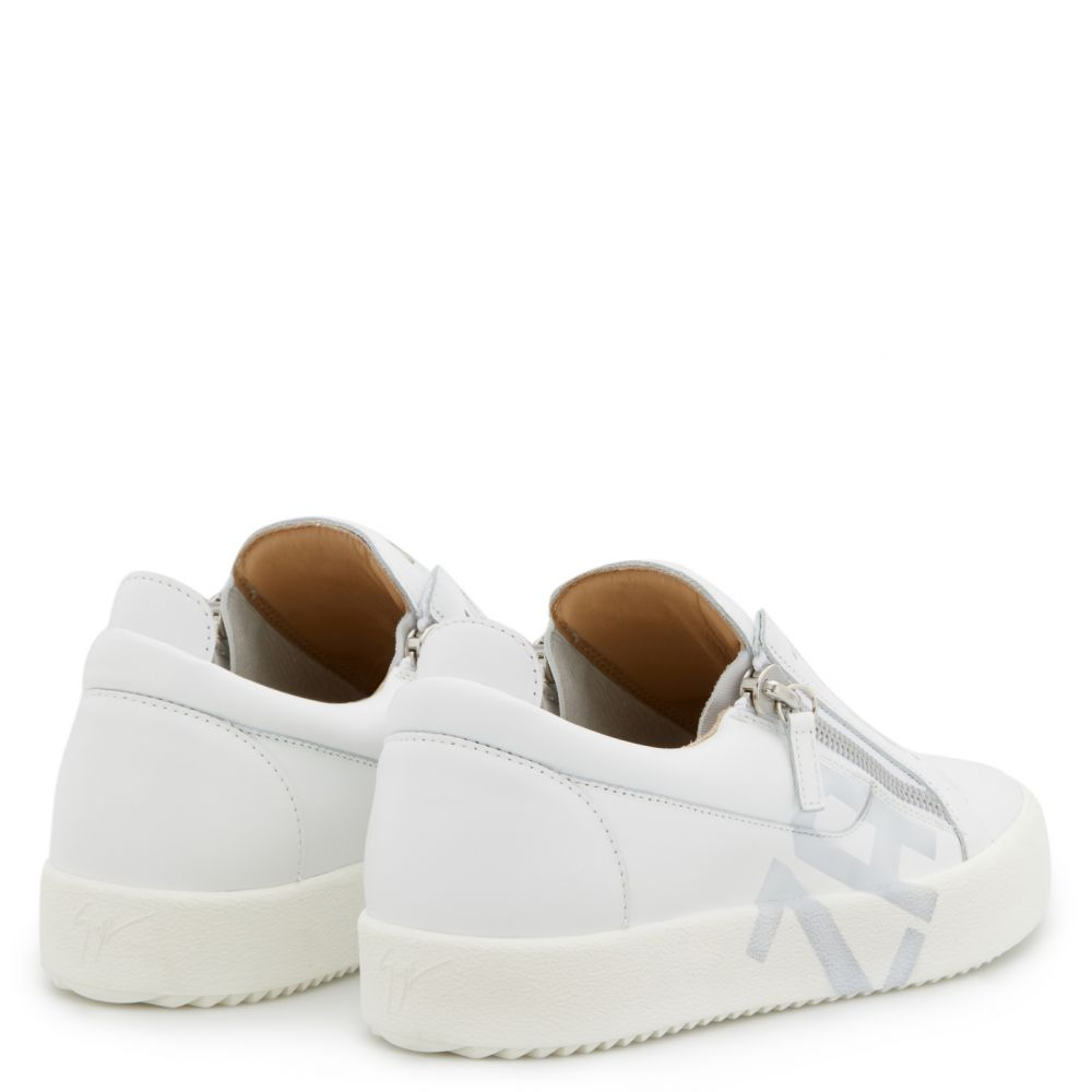 FRANKIE TAG - White - Low top sneakers