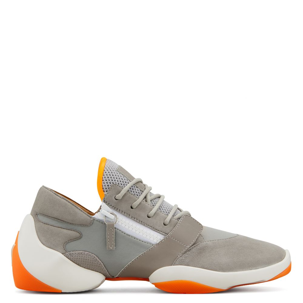 SUEDE JUMP - Grey - Low top sneakers