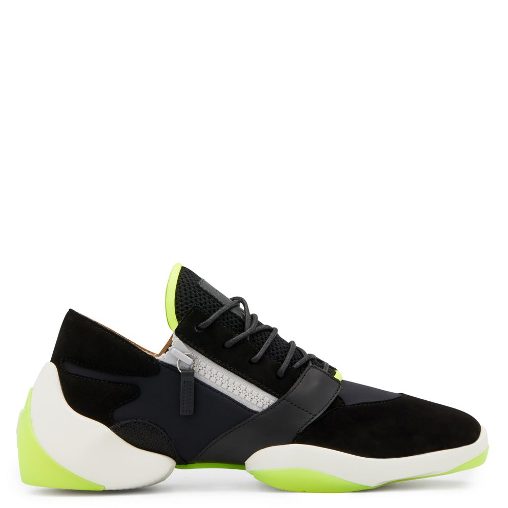 SUEDE JUMP - Black - Low top sneakers