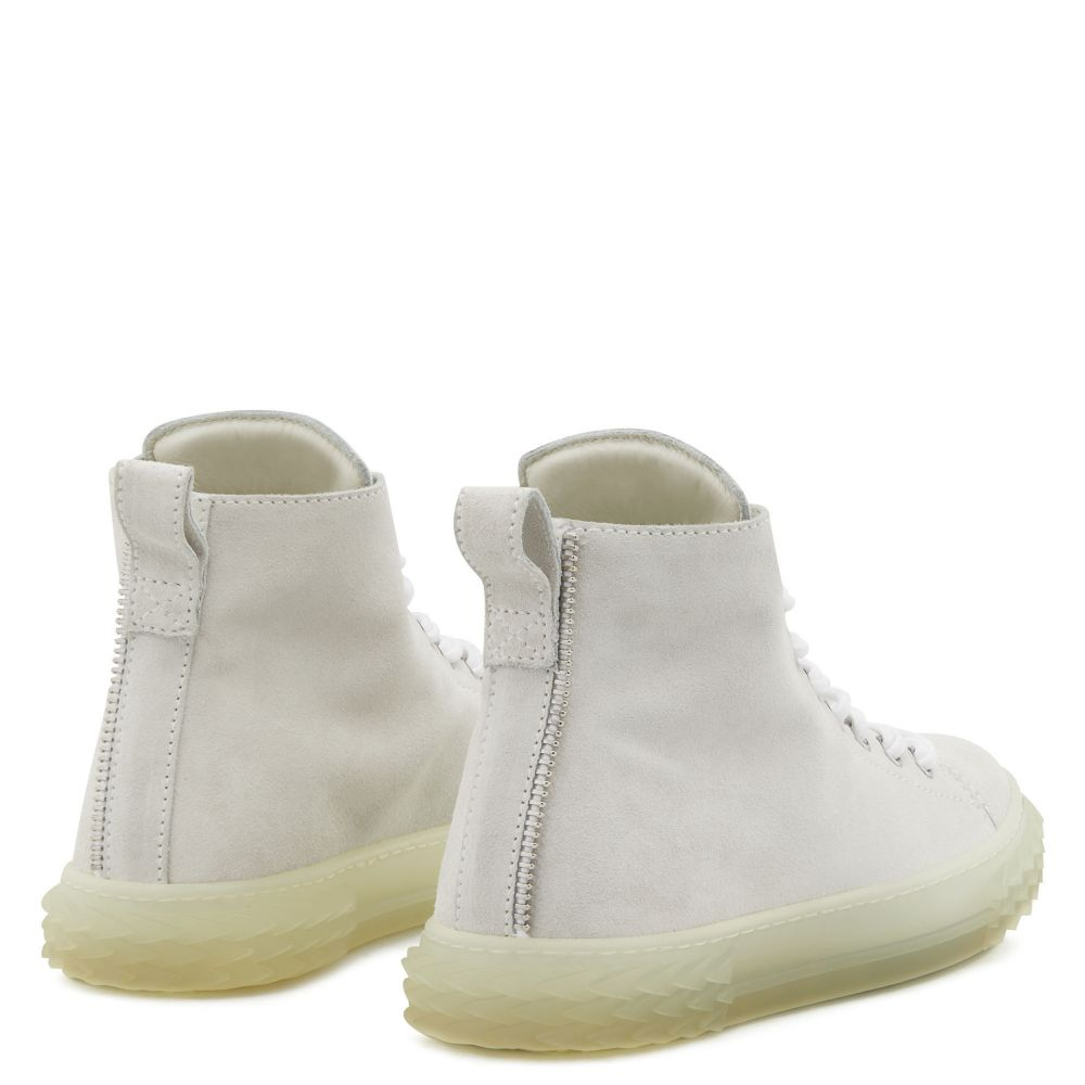 BLABBER JELLYFISH - White - High top sneakers