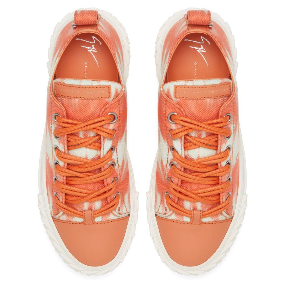 BLABBER - Orange - Low top sneakers