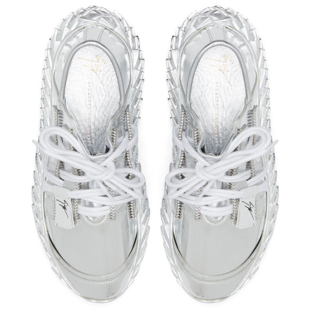 URCHIN - Silver - Low top sneakers