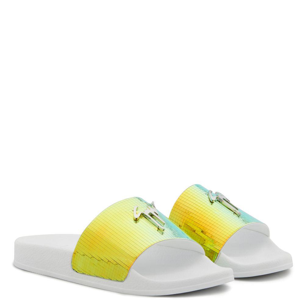 BRETT - Multicolore - Talons Plats