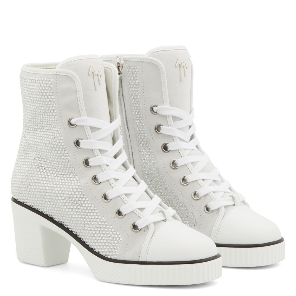 NIDIR - White - High top sneakers
