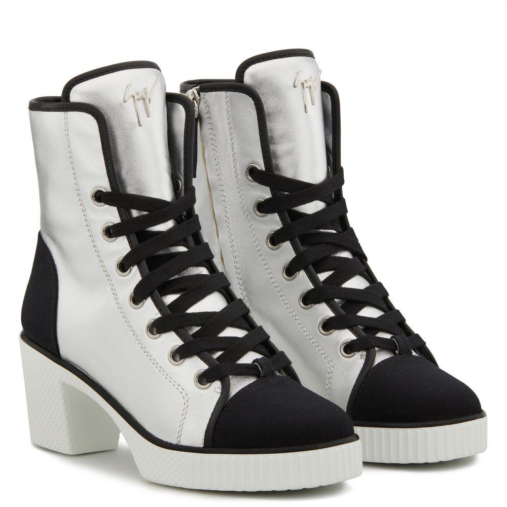 NIDIR - Silver - High top sneakers