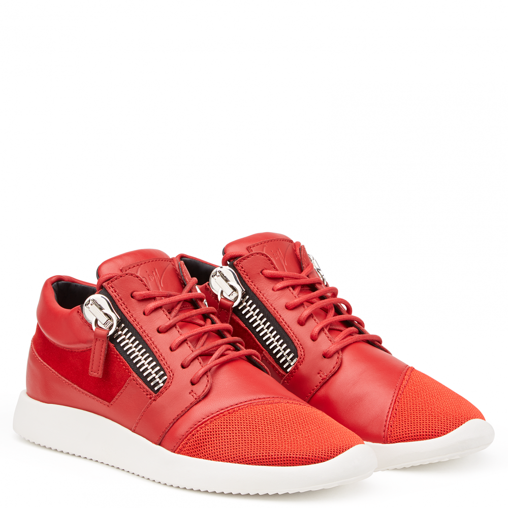 RUNNER - Red - Low top sneakers