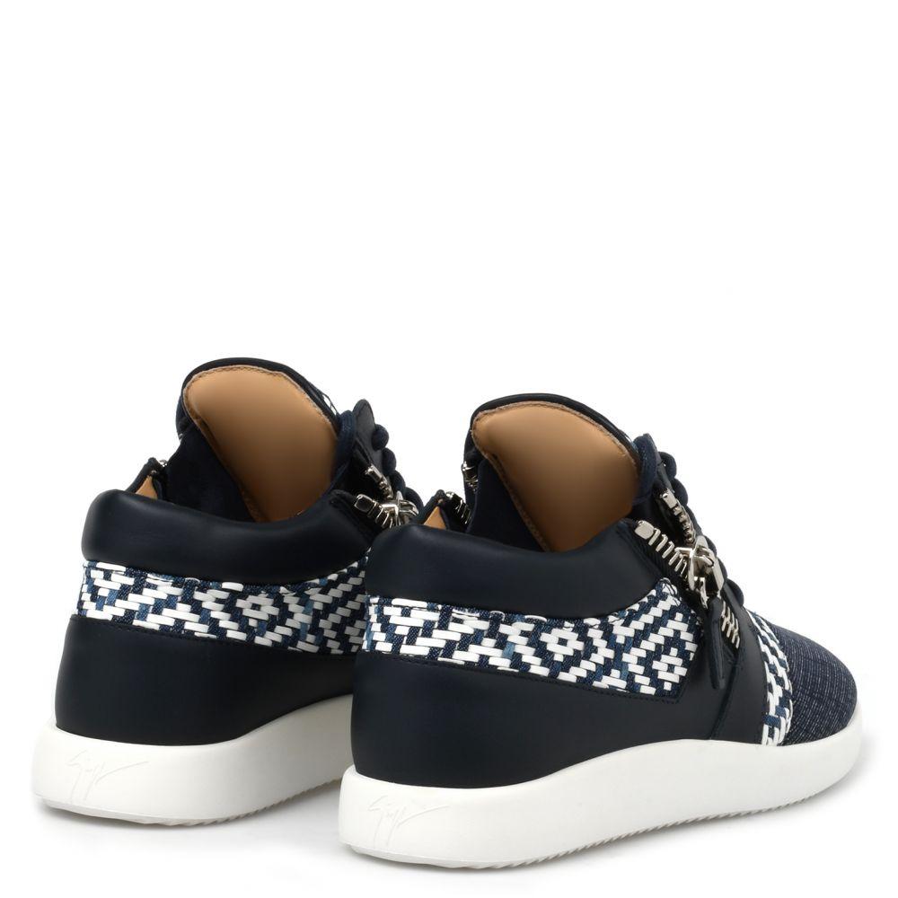RUNNER - Bleu - Sneakers basses