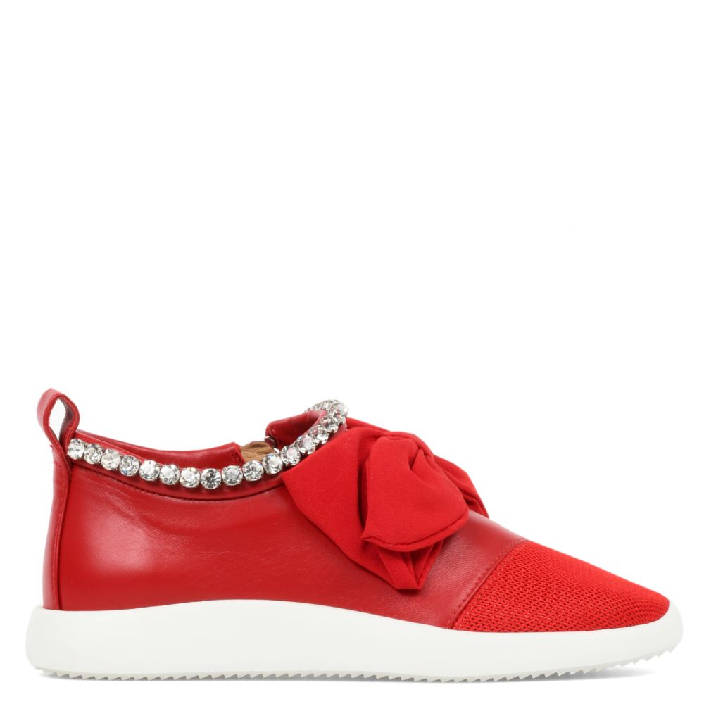 RUNNER - Rouge - Sneakers basses